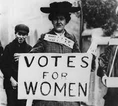 Instauración del voto femenino en los Estados Unidos.