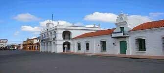 El museo de Luján donde se encuentra la veleta original.