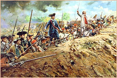 the battle at Bunker Hill