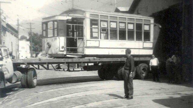 Desaparición de tranvía