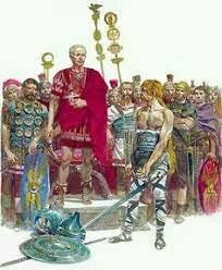 52 avant C. : La Gaule est conquise par les Romains.