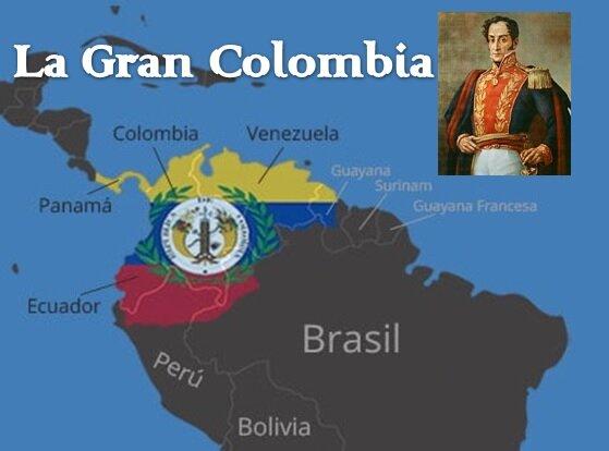 La Gran Colombia.