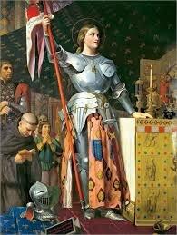 1412-1431 : Jeanne d´Arc.
