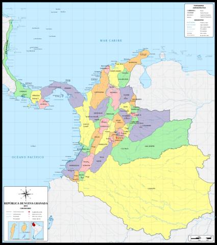 República de la Nueva Granada 1831-1858