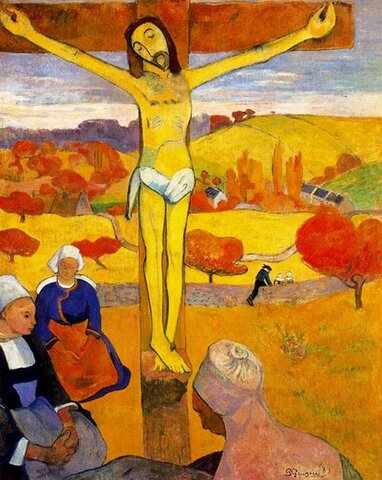 Il cristo giallo- Gauguin