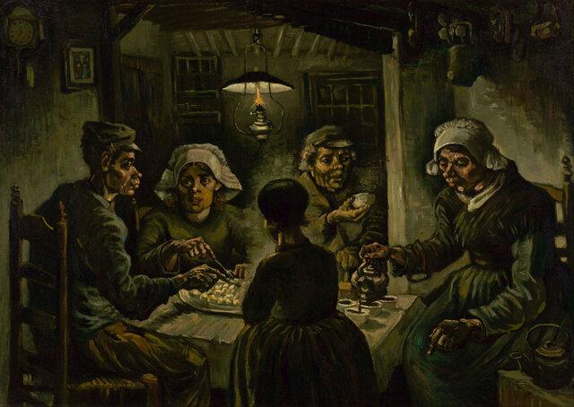 I mangiatori di patate- Van Gogh