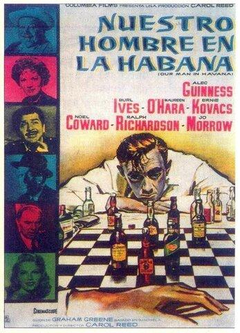Las 7 mejores peliculas sobre la guerra fría (Nuestro hombre en la Habana).