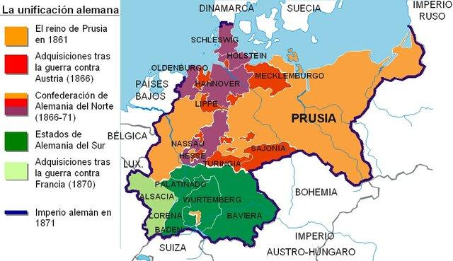 Unificación Alemana - Comienzos