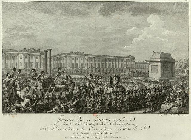 Usmrtitev kralja Ludvika XVI.