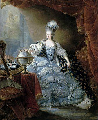Usmrtitev kraljice Marije Antoinete.