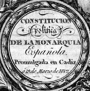 """La Pepa"", Constitución de Cádiz"