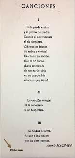 primeros poemas