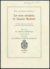 Antonio en la Real Academia Española