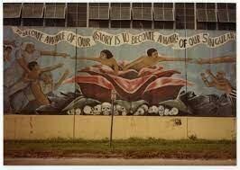 •Chicano Mural Movement Begins