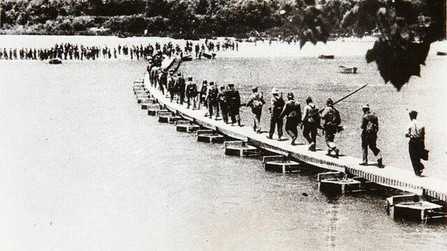 Inicio de la Batalla del Ebro.