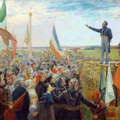 Séquence chapitre 4: Les revendications et les luttes nationales (1791-1840) timeline