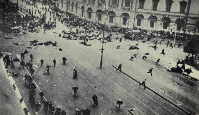 Tiroteo en las Jornadas de Julio (1917)