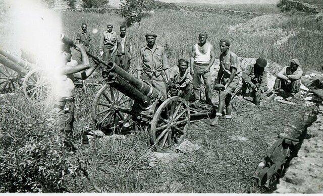 Inicio de la Batalla de Jarama.