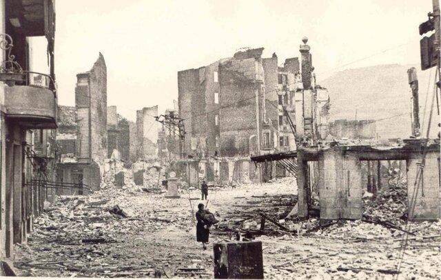 Bombardeo de Guernica y Durango.
