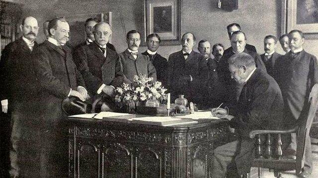 Tratado de París y Desastre del 98