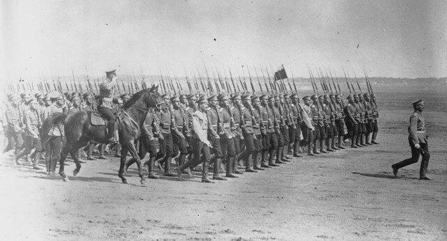 Intervención rusa en la I Guerra Mundial