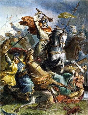 """Charles """"El Martillo"""" y la batalla de Tours"""