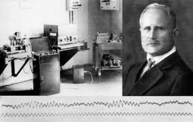 Primeras encefalografías(Hans Berger)