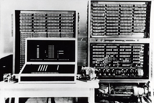 Primera computadora electromagnetica