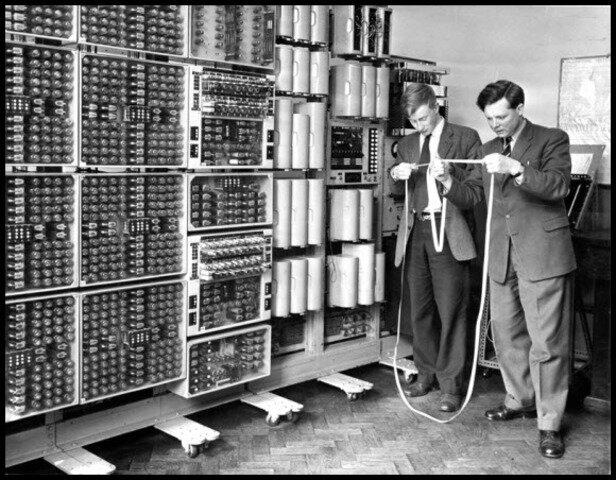Primera oficina informatizada