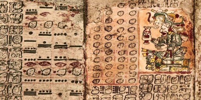 La escritura en América central