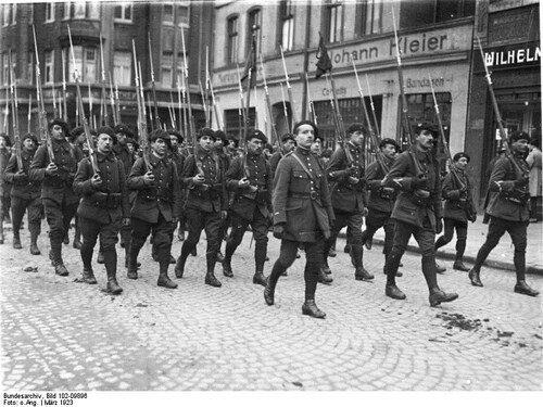 Disolución del segundo imperio alemán