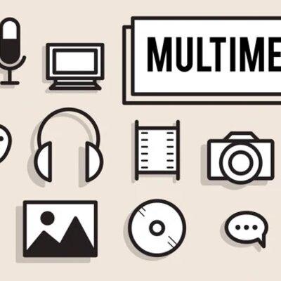Evolución de la producción multimedia timeline