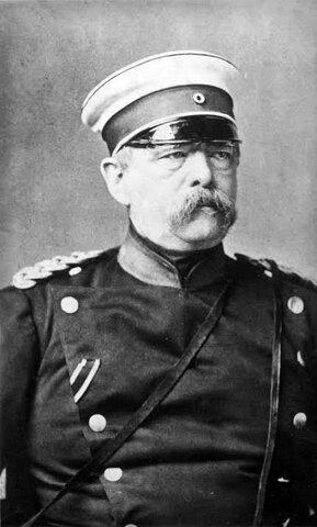 El ministro Otto von Bismarck