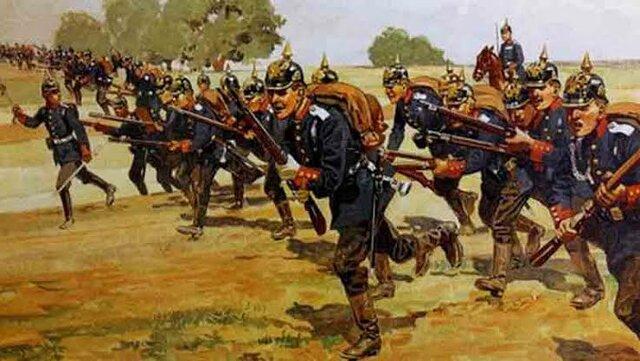 Inicio de la guerra contra Francia