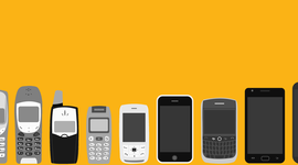 Evolución de los dispositivos móviles timeline