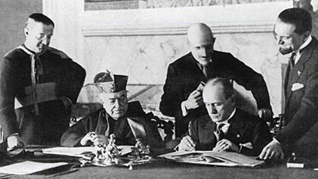 El tratado de Letrán