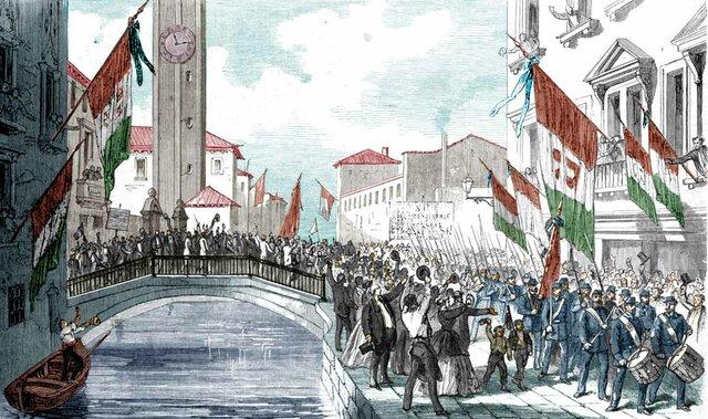 (UI) Anexión de Venecia a Italia