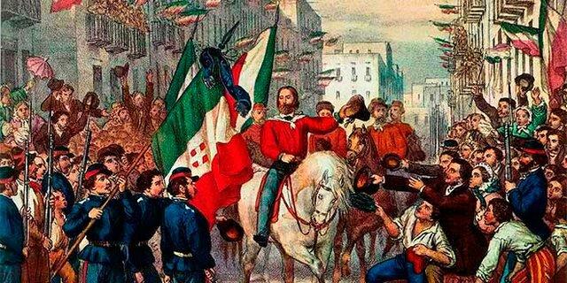 Guerra contra Austria e incorporación de Lombardia