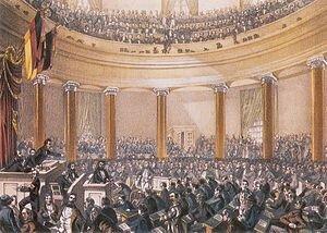 Parlamento de Fráncfort (Alemania)