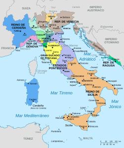 Incorporación de los estados Pontificios (Italia)