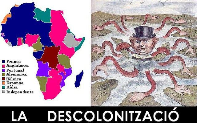 Descolonització de la major part d'Africa i Àsia