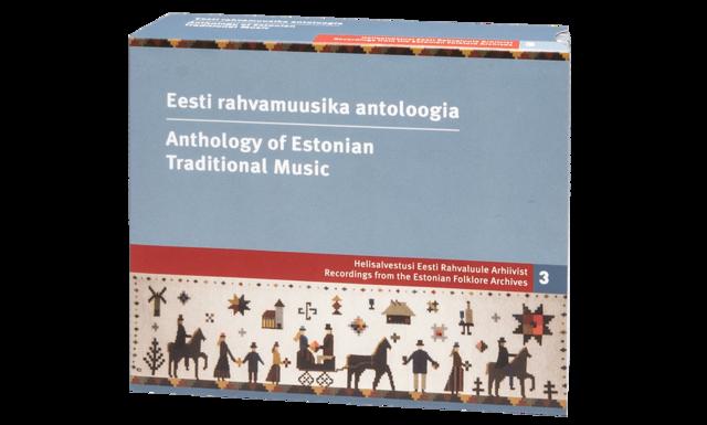 """""""Eesti rahvamuusika antoloogia"""" CD-väljaanne"""