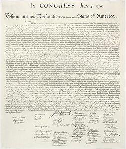 La Declaració d'Independència