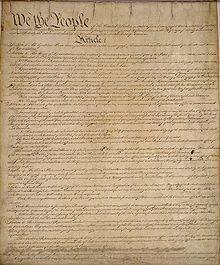 Constitució dels Estats Units d'Amèrica