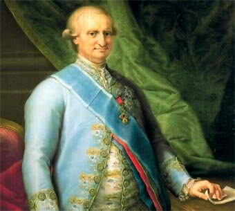 Inici del regnat de Carles IV