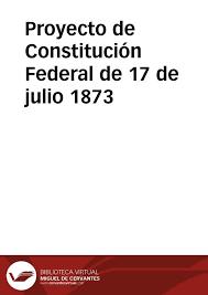 La Constitución de 1873