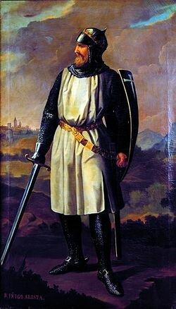 Fundación de la dinastía Arista-Íñiga
