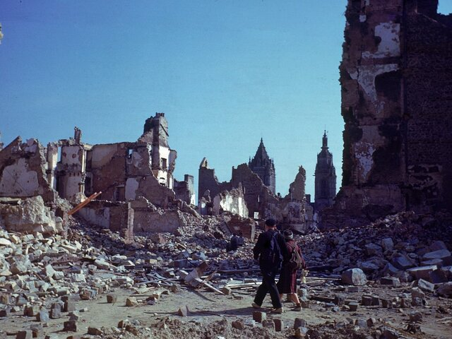 Germany's blitzkrieg on Poland-