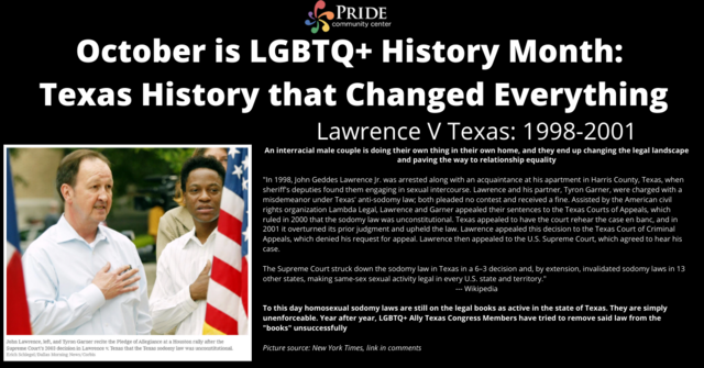 Lawrence v Texas