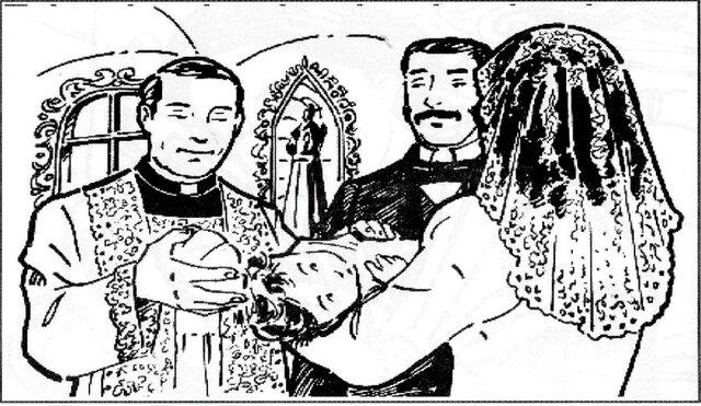 Bautizan a José Antonio